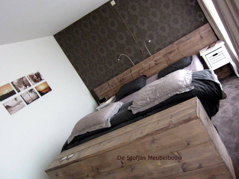 awesome uniek slaapkamer met tv lift meubel with tv meubel achter bed