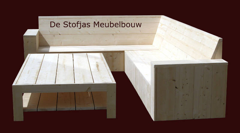 loungebank de Patio met loungetafel Merwede